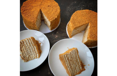 Classic Honey cake-8-inch