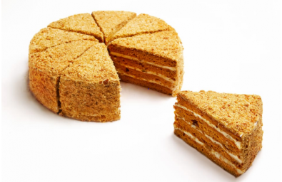 saffron-honey-cake